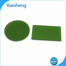 LB1 green optical glass filters